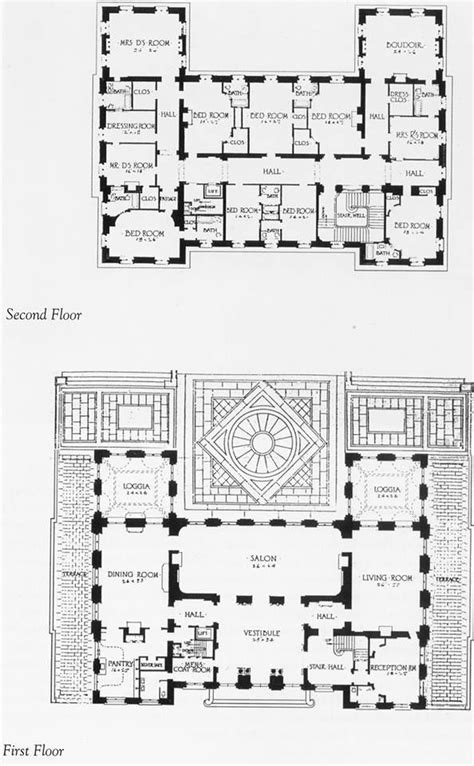 gilded age mansions floor plans 444 best architecture with soul images on pinterest
