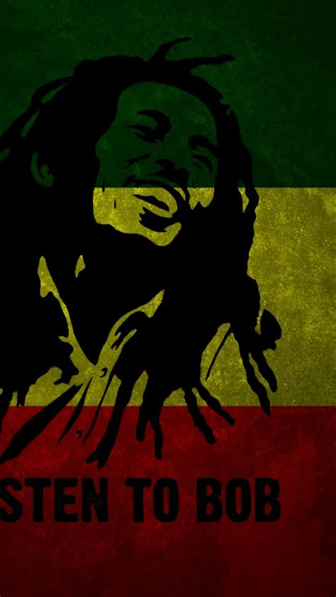 bob marley flag smile red yellow green wallpaper
