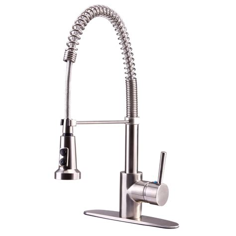 spring kitchen faucet euro collection single handle kitchen faucet with spring