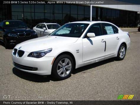 2009 bmw 528xi alpine white 2009 bmw 5 series 528xi sedan