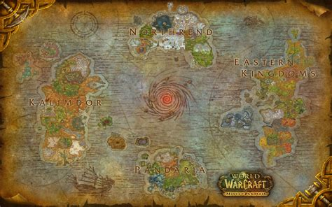 wow map world of warcraft azeroth composite map by amiyuy on deviantart