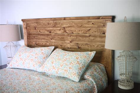 Wood Headboards Diy White Reclaimed Wood Headboard Diy Projects