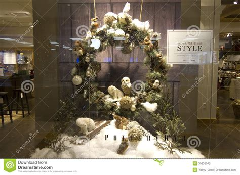 thanksgiving christmas decorations home deco store window