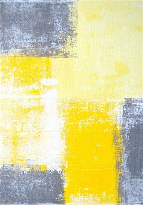 grey and yellow abstract painting grey and yellow artworks acrylics and