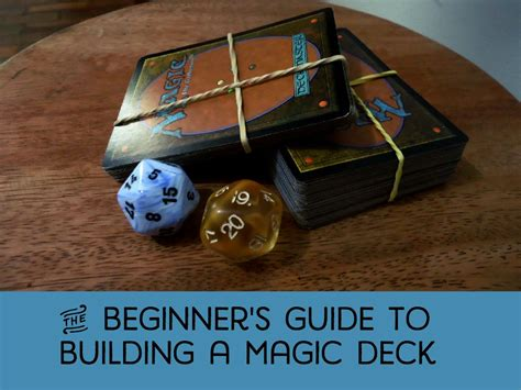 magic building magic underware tips to build a magic the gathering deck for beginners