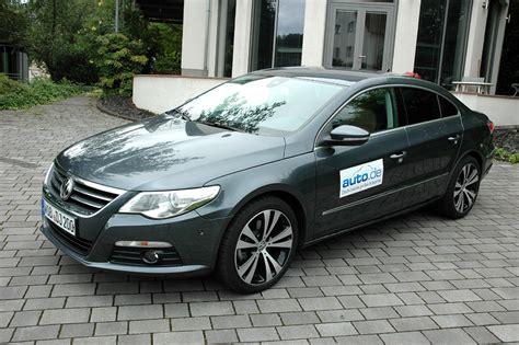 Vw Auto Diesel by Auto Im Alltag Vw Passat Cc Diesel Magazin Von Auto De