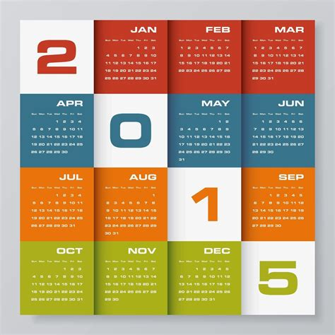 design new year calendar amazing calendar for year 2015 designs page 2