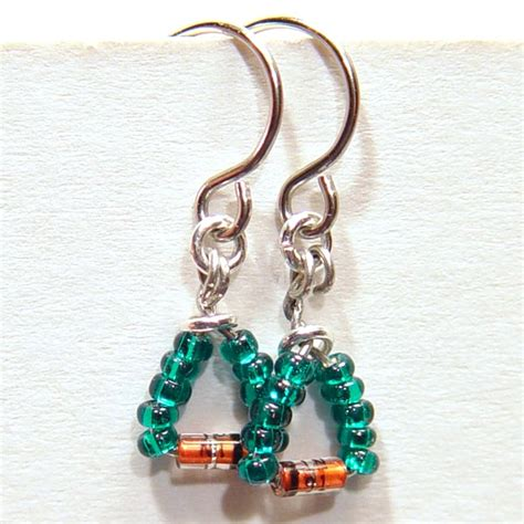 diode jewelry diode earrings w teal stewart jewelry designs