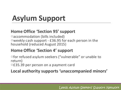 section 4 asylum support lassn volunteer training the asylum journey april 2016