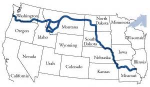 Lewis And Clark Route Map by Pics Photos Route Map Lewis And Clark Timeline Corps Of