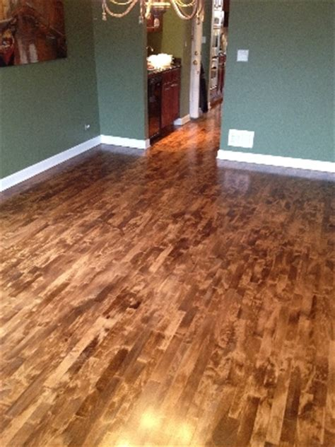 staining maple hardwood floors gurus floor