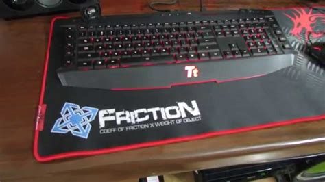 Mouse War war friction mouse pad review
