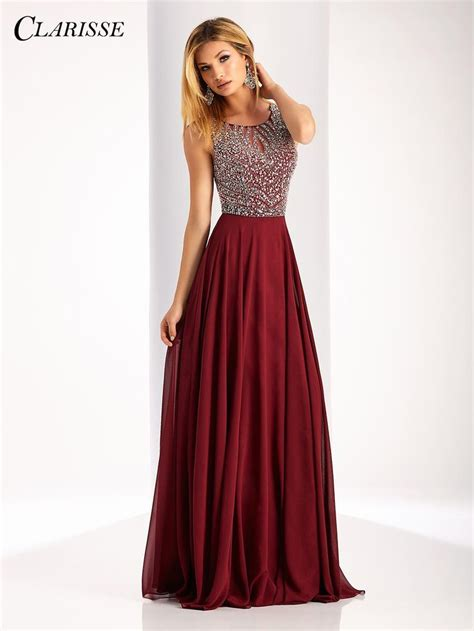 and flowy clarisse 2017 clarisse flowy prom dress style