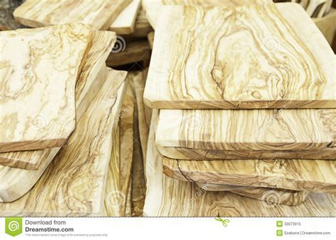 Olive wood tables stock image. Image of furniture, closeup