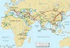 Marco Polo Route Map by Marco Polo Route Bing Images