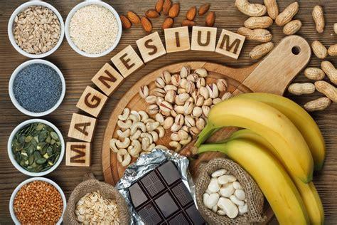 top  de alimentos ricos en magnesio