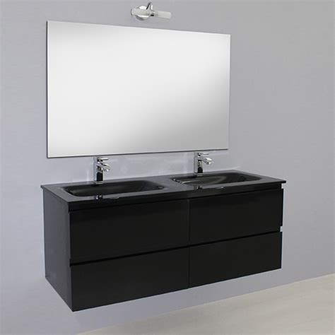 bagno mobile arredo bagno black mobile moderno doppio lavabo br