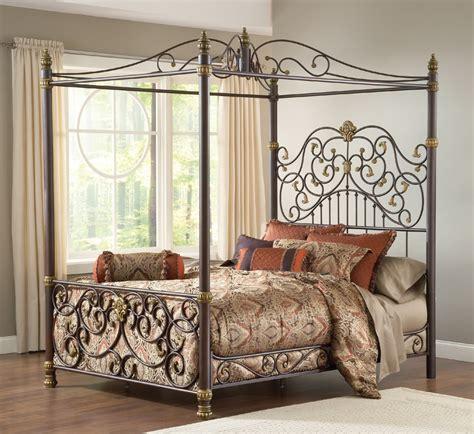 full canopy bed frame metal canopy bed frame full home design ideas