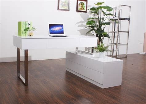 office desk with file cabinet kd12 contemporary office desk with storage cabinet left