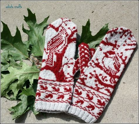 1000 Images About Knitting Mittens On Fair