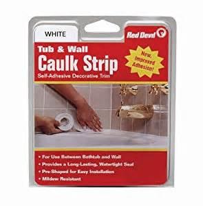 0151 wide white tub wall caulk