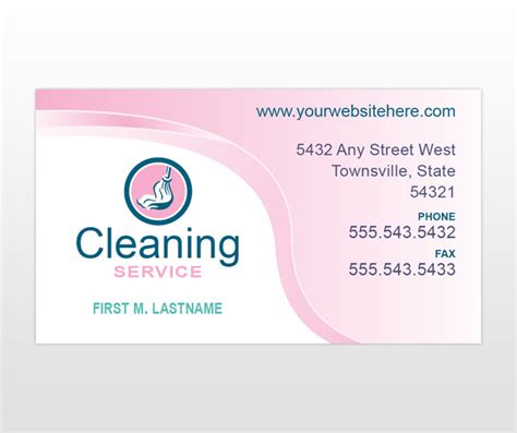 janitorial business cards sles of cleaning business cards template