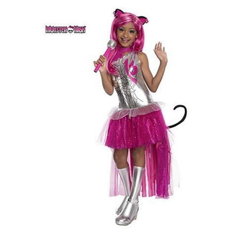 fantasia infantil meninas monster high luxo catty noir