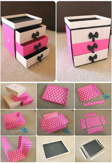 How To Make A Drawer Box Out Of Paper - 21 diy makeup organizing solutions that ll change your