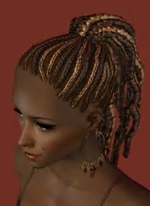 sims 3 american hairstyles mod the sims nouk afro knot hair nice afro hair for