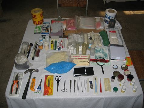 Forensic Photography Supplies by Crime Equipment Scena Criminis