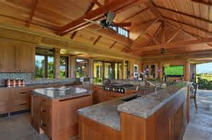 Exceptionnel Salle A Manger Americaine #4: cuisine-exotique-bois-residence-tropicale.jpg