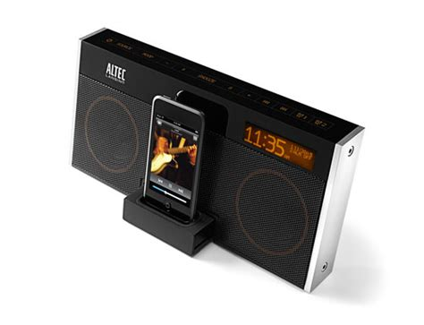 Speaker Portable Mighty new altec lansing iphone ipod speakers iclarified