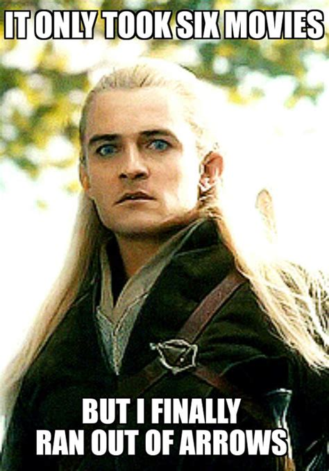 Meme Video Clips - funny legolas quotes quotesgram