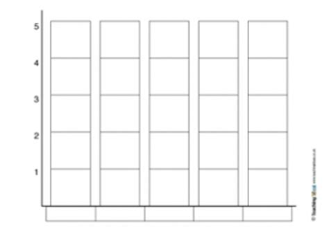 block graph template bar graphs teaching ideas