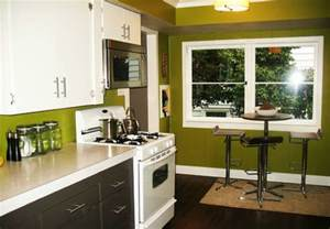 delightful What Color To Paint Walls With White Kitchen Cabinets #4: Painted-Cabinets-white-green-walls.jpg