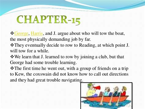 three men in a boat chapter 13 summary three men in a boat chapters 13 to 19