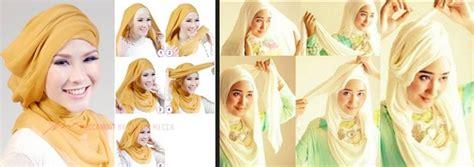 hijab menggunakan 1 jilbab segi empat untuk 3 gaya the gallery for gt tutorial hijab segi empat untuk ke kantor