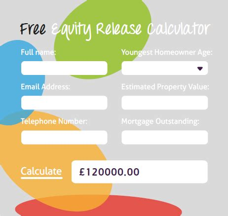 equity release loans compare best deals free calculators