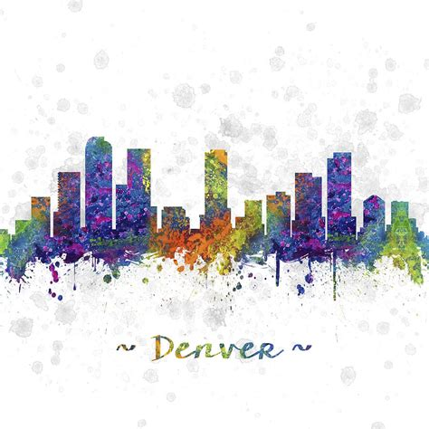 colore denver denver colorado skyline color 03sq digital by aged pixel