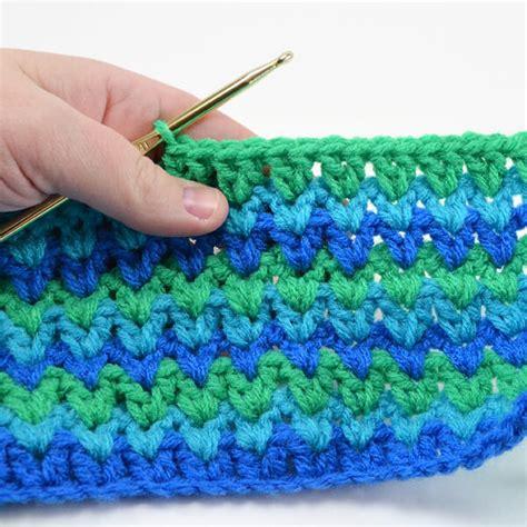 Crochet Pattern V Stitch | v double crochet stitch tutorial dream a little bigger