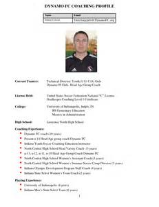 Soccer Player Profile Template by Best Photos Of Soccer Player Profile Template College