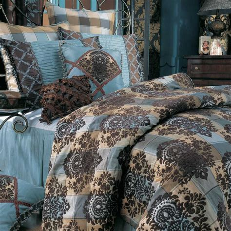 Brown And Turquoise Bedding Sets Brown Turquoise Comforter Sets Bedroom Ideas Pictures