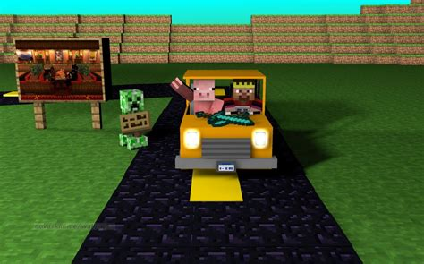 How To Make A Moving Car In Minecraft Tutorial No Mods