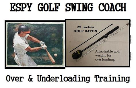 increase golf swing speed drills underloading and overloading training to improve your golf
