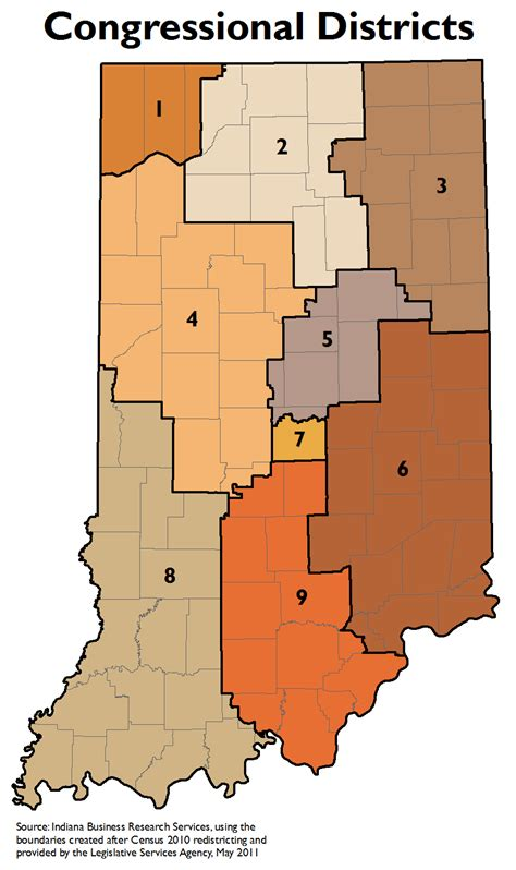 Congressional District Lookup By Address Legislative Redistricting Topic Page Stats Indiana