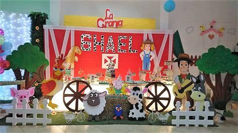 decoracion la granja de zenon decoraci 211 n infantil de la granja de zenon youtube