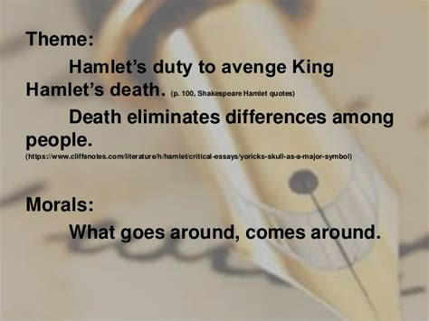 moral themes in hamlet 1 shakespearean plays hamlet