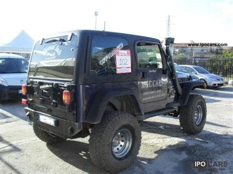 2001 Jeep Wrangler 4 0 2001 Jeep Wrangler 4 0 Sport Cat Con Gpl Car Photo And Specs