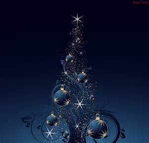 blue bauble christmas tree high definition wallpapers