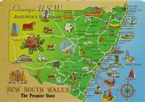 australia nature s gifts postcard range orange nsw